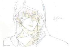 Skech de Lavi by Hoshino sensei <3 Trouvé sur la page facebook  => D.Gray man community
