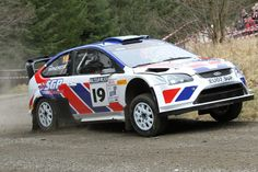 Ford Focus WRC - Malcolm Wilson Rally March 2013