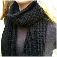 The Broken Rib Unisex Knit Scarf Pattern is the perfect knit to have on hand for a wonderful gift. This broken ribbed knit scarf has a simple, two-row design. Mens Scarf Knitting Pattern, Rib Stitch Knitting, Mens Knitted Scarf, Loom Knitting, Knitting Patterns Free, Free Knitting, Scarf Patterns, Knitting Tutorials, Knitting Projects