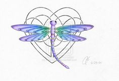 Pictures Dragonfly Tattoos | Jane Tattoo Gallery: dragonfly tattoo by Gary McNeill
