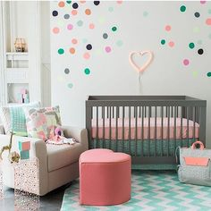 We are loving @ohjoy's nursery collection! Those colors make us