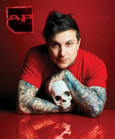 Frank Iero is fully entrenched in his next chapter as Frank Iero And The Future Violents. The former My Chemical Romance guitarist opens up exclusively for AP! Frank Iero, My Chemical Romance, Pop Punk, Grunge, Ray Toro, I Fall Apart, Mikey Way, Gerard Way, Emo Bands