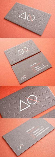 Alberto Ojeda Business Cards