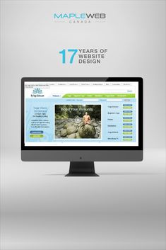 Mapleweb has over 17 years designing websites and we're here to help! Contact us today to find out how we can help you elevate your business image. #webdesign #webdesigner #Branding #Webdevelopment #Graphicdesign #Logodesign #printdesign #digitaldesign #creative #Mapleweb Print Design, Web Design, Logo Design, Graphic Design, Yoga Videos, Yoga For Beginners, A 17, Web Development, How To Find Out