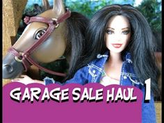 Garage Sale Haul & Shout Outs Barbie Doll Monster High Doll
