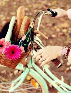 Хлебный велосипед ;)