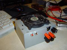 In my sophomore year of college at the University of Minnesota, I started into my main electronics classes, and needed a good power supply for working on lab projects at home. My roommate Adam told me about somebody online who had converted an ATX computer power supply into a lab bench power supply, so I decided to do the same thing. You can also check out this link for a very similar guide by their user Abizarl. I have also documented this project on my website at…