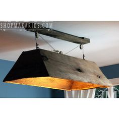 Barn Wood Light fixture.pendant light.wood light.rustic... ($600) ❤ liked on Polyvore featuring home, lighting, ceiling lights, grey, home & living, wood lighting, fluorescent light, wood pendant lights, handmade lamps and fluorescent ceiling lights