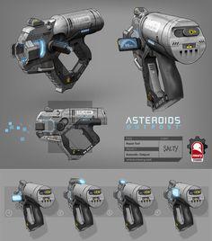 ArtStation - Asteroids: Outpost - Repair Tool, Kris Thaler