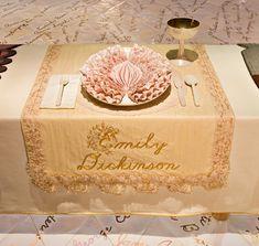 The dinner plate of emily Dickinson