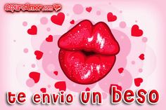Un animado beso de colores Love In Spanish, Cute Instagram Captions, Sarah Kay, Good Morning Good Night, Gif Pictures, Love You, My Love, Holidays And Events, Smiley