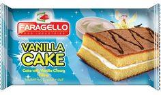 Faragello Vanilla Cake, Faragello, Egyptian Food CO. Alexandria, Egypt.
