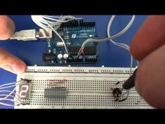 A simple example of reading an analog value and display value on a 7-segment digit. Electronic Components used: Arduino Uno development board (clone), 10k va...