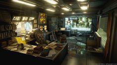 Deus Ex Office, Jeff Leung on ArtStation at https://www.artstation.com/artwork/OEJB8