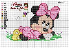 Viviane Pontos e Art's: Graficos de Minei e Mickey