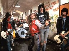 Rock and Roll High School. I had big plans to be Riff Randall when I grew up. No such luck.