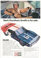 AMT Kit Sunoco Javelin AMX 1971 Ad Picture