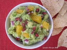 Lynda's Recipe Box: Fresh Orange Guacamole