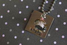 Sweet Cupcake Necklace, by You're Gonna Love This