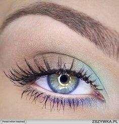 """Light """"magical"""" eye makeup"""