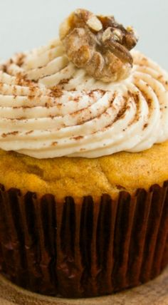 Maple Pumpkin Cupcakes