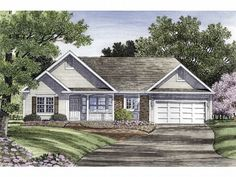 Traditional Home Plan, 014H-0006