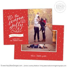 Holiday Card Template  Baby ItS Cold Outside  Card Templates