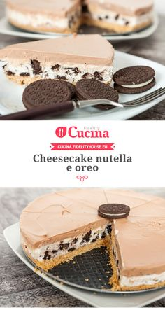 #Cheesecake #nutella e #oreo