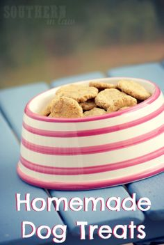 Southern In-Law: Homemade Dog Treats Recipe