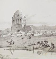 Flandin, Eugene, and Pascal Coste VOYAGE EN PERSE. PARIS: GIDE ET J. BAUDRY, [1843-1854] Pascal Coste, Paris, Taj Mahal, Paintings, Building, Travel, Montmartre Paris, Viajes, Paint