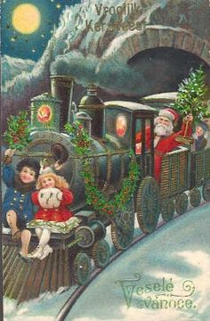 vintage santa - Bing Images
