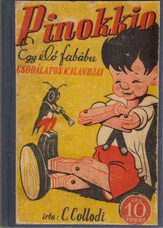 Pinokkio Book Cover By Sándor Kolozsváry
