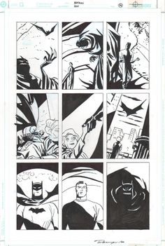 Cooke - Batman Ego pg 59 Comic Art
