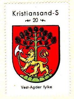 Kristiansand-S, Vest-Agder fylke