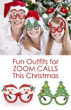 Where to find the best Christmas Jumpers, Christmas Hats, Christmas Outfits for 2020. Fun outfits for Zoom Calls Christmas 2020. Zoom call props Christmas 2020. Funny outfits for Zoom Calls Christmas 2020. Family Zoom Calls 2020. Outfits for Family Zoom Calls 2020.