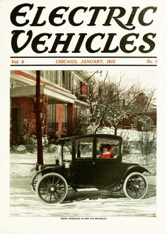 Electric Vehicles 1915