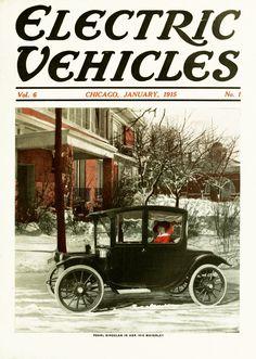 Electric Vehicles 1915