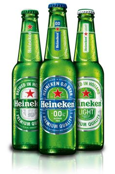 Heineken's new non-alcoholic beer is coming to America in January I did a blind taste test with the non-alcoholic beer and a regular Heineken, and here's what I thought. Best Non Alcoholic Drinks, Drinks Alcohol Recipes, Beer Recipes, Recipies, Billard Bar, Irish Drinks, Beer Online, Sparkling Drinks, Cocktails