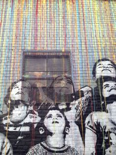 Icy & Sot. Great transformation of building facade into graffiti canvas!