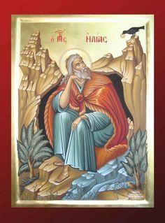 Βυζαντινή Αγιογραφία - Τοιχογραφία δια χειρός Βασίλειου και Περικλή Συρίμη Szent Illés