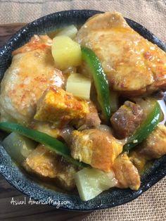 Filipino Chicken and Pork Hamonado with Pineapple : Instant Pot + Stove-top Instant Pot Multi Cooker, Instant Pot Pressure Cooker, Pressure Cooker Recipes, Pork Recipes, Asian Recipes, Chicken Recipes, Pork Hamonado Recipe, Dinner Entrees, Thermomix