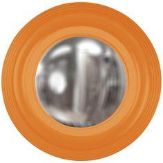Howard Elliott Soho Orange Mirror 51276O