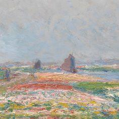 Tulpenvelden vlak bij Den Haag - Van Gogh Museum