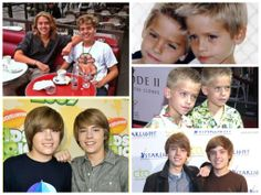 Cole and Dylan Sprouse That one picture with long hair it just like what happened?!?!?!