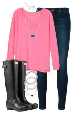 """""""comment possible braces colors. im getting them tomorrow"""" by elizabethannee ❤ liked on Polyvore featuring J Brand, Hunter, Kendra Scott, Aid Through Trade, Sydney Evan, women's clothing, women's fashion, women, female and woman"""
