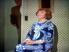 Feeling blue Endora Bewitched, Agnes Moorehead, Play Dress, Playing Dress Up, Christmas Sweaters, Classy, Actresses, Elegant, Blue