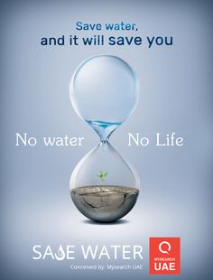 Save Water and it will save you. No Water. No Life Save Water Images, Save Water Poster Drawing, Save Earth Posters, Save Water Save Life, Save Mother Earth, Meaningful Pictures, Food Poster Design, Save Nature, World Water Day