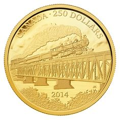 Royal Canadian Mint coins in larger than typical format commemorate the anniversary of the completion of the Grand Trunk Pacific Railway. Canadian Coins, Gold And Silver Coins, Mint Coins, Coins For Sale, Silver Bullion, World Coins, Rare Coins, Stamp Collecting, Pure Products