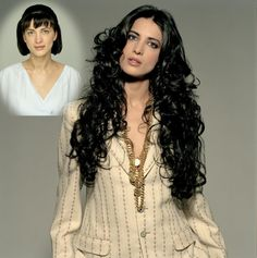 Long, black waves, romantic hairstyle - Great Lengths Hair Extension (www.greatlengths.pl)