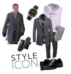 """""""chuck bass style"""" by whatsmynameriri ❤ liked on Polyvore featuring Longines, Brunello Cucinelli, Stacy Adams, Bonobos, Tommy Hilfiger, men's fashion and menswear"""